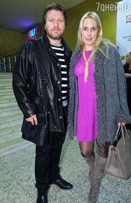 Егор Позенко с супругой