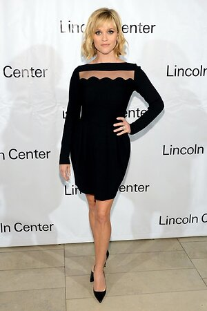 Риз Уизерспун в платье от Valentino на вечеринке American Songbook