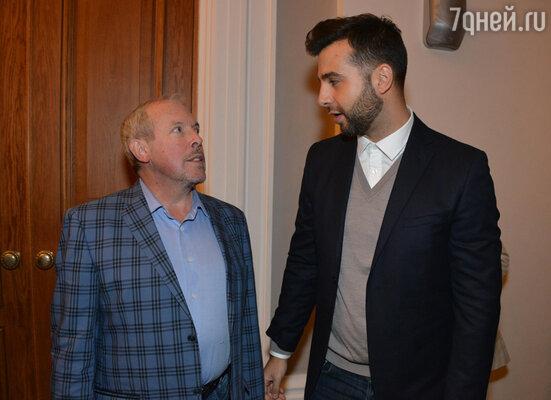Андрей Макаревич и Иван Ургант