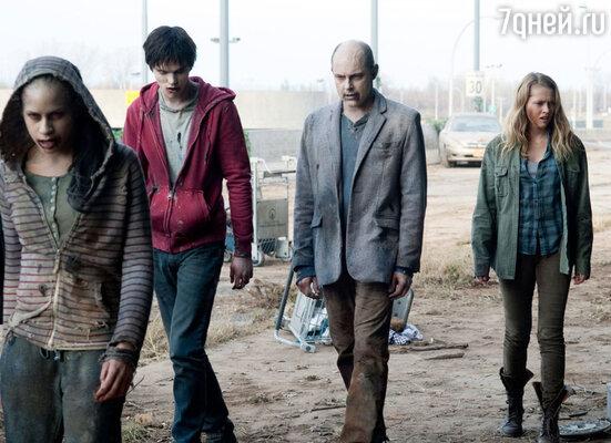 «Очумевшие» покойники мгновенно превращаются в зомби и снуют по Земле в поисках уцелевших выживших, чтобы ими закусить
