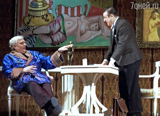 Спектакль «Ужин с дураком» в театре Антона Чехова