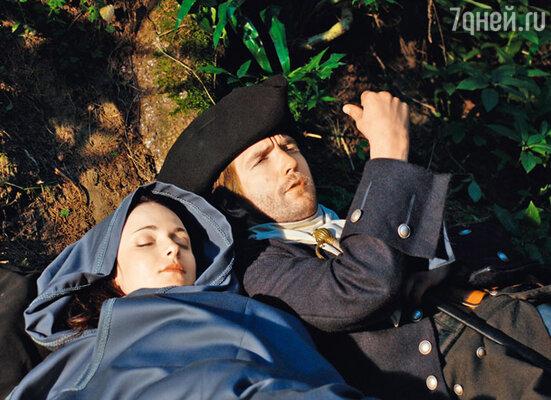 Спать героям Анны Снаткиной и Петра Красилова приходится в походных условиях