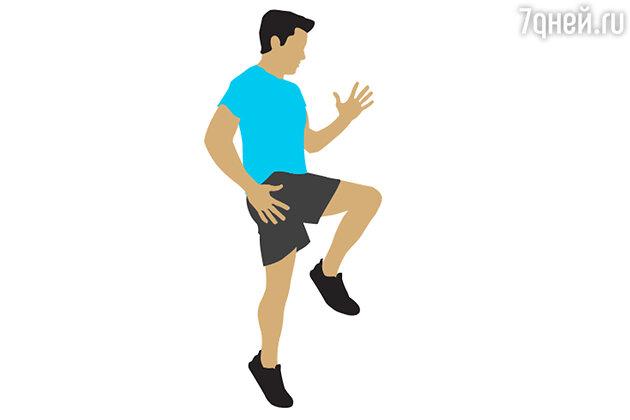 Упражнение № 1. Спринт на месте
