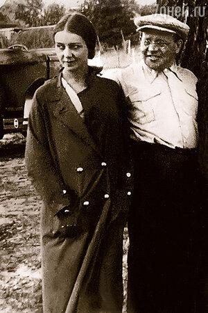 Исаак Бабель и Антонина Пирожкова