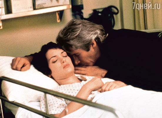 С Ричардом Гиром в фильме «Осень в Нью-Йорке». 2000 г.
