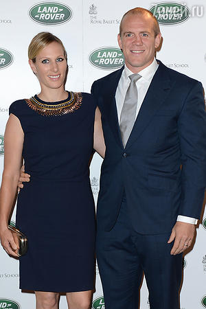Зара Филлипс (Zara Fillips) и Майк Тиндалл (Mike Tindall).