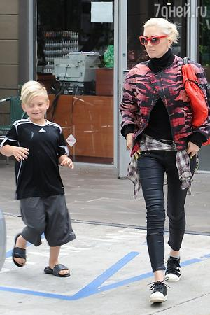 Гвен Стефани с сыном