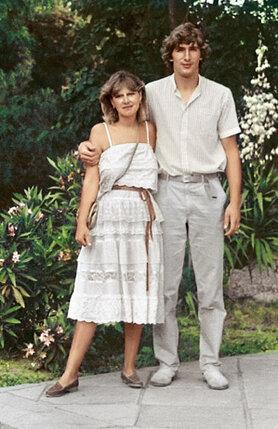 Мама и папа в Ялте летом 1984 г