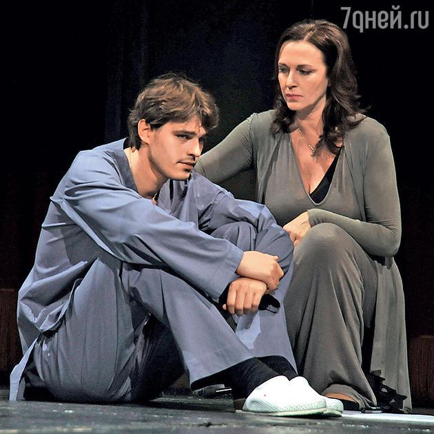 Василий Степанов с Татьяной Лютаевой