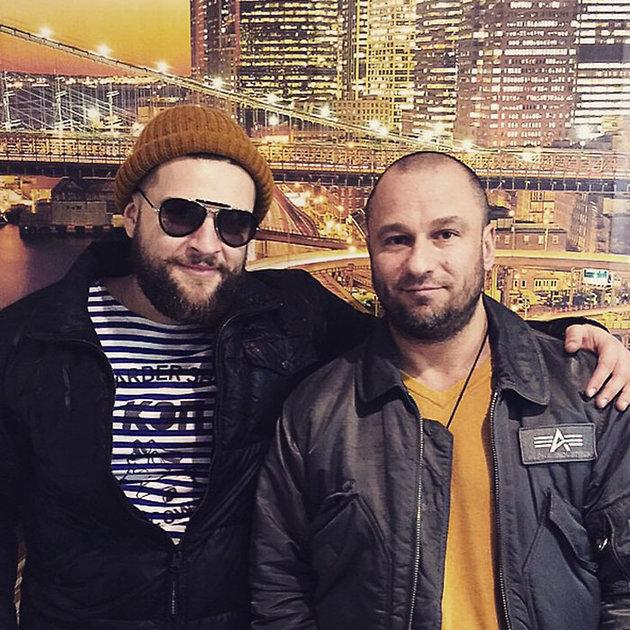 Кирилл Нагиев с дядей Евгением Нагиевым