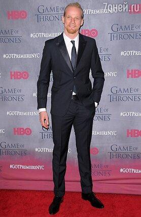 Юрий Колокольников на премьере 4 сезона сериала «Игра престолов» в Нью-Йорке