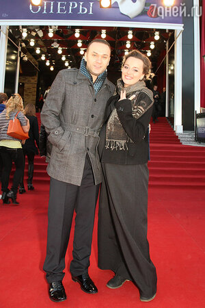 Наталья Быстрова с мужем
