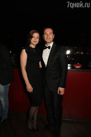 Виктор Добронравов с женой Сашей