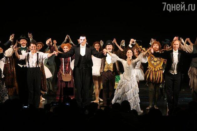 Московская премьера мюзикла «Призрак оперы»