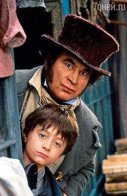 Режиссер «Дэвида Копперфилда» и два его ассистента незамедлительно утвердили 9-летнего Дэниела на главную роль