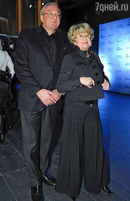 Марина Неелова с мужем