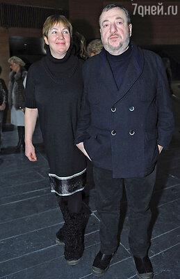 Павел Лунгин с супругой