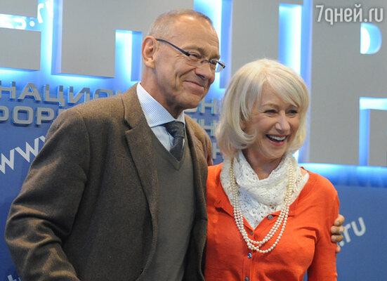 Хелен Миррен и Андрей Кончаловский