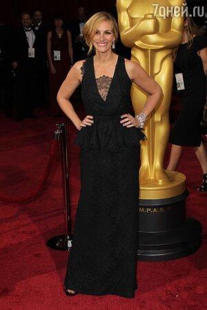 Джулия Робертс на церемонии «Оскар-2014»