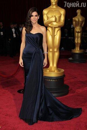 Сандра Буллок на церемонии «Оскар-2014»