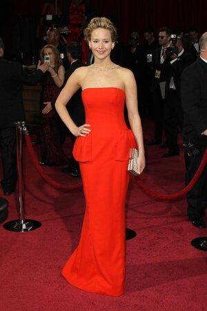 Дженнифер Лоуренс на церемонии «Оскар-2014»