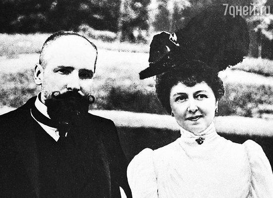 Русский государственный деятель Петр Столыпин с супругой Ольгой Борисовной, 1906 год