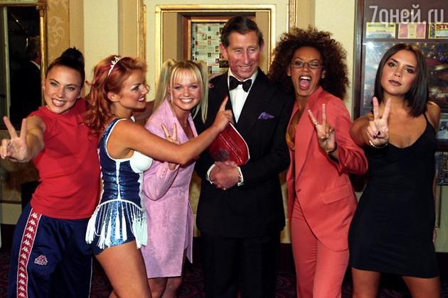 Виктория Бекхэм Spice Girls