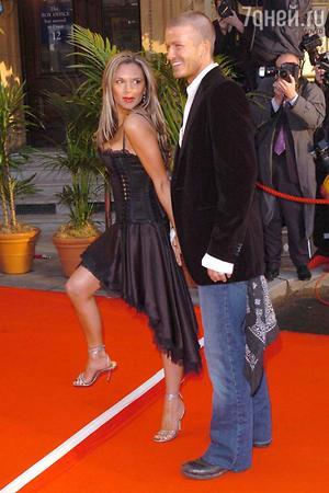 Виктория и Дэвид Бекхэм, 2004 год
