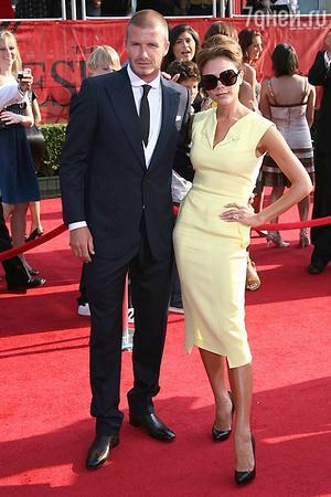 Дэвид и Виктория Бекхэм, 2008 год