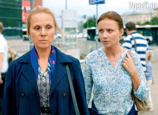 Героиня Дины Корзун тоже оказалась в сложной ситуации: у нее отняли двух дочерей. С Марией Мироновой