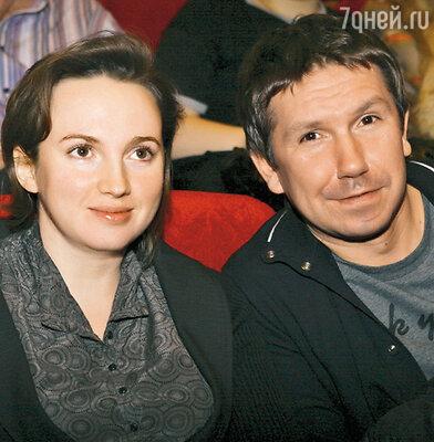 Сергей Кристовский и его жена Наталья