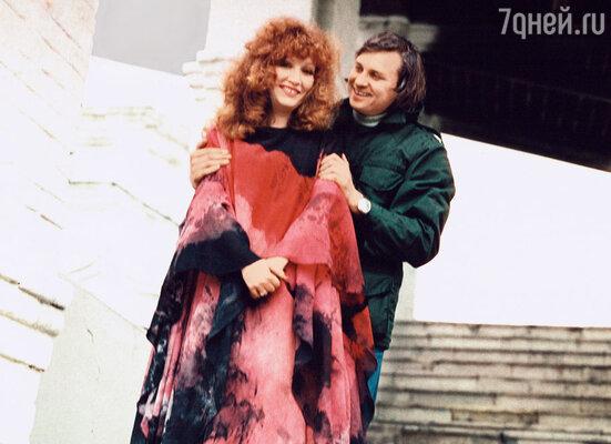 Их брак с питерским режиссером Александром Стефановичем продлился около четырех лет. Примерно столько тогда требовалось прожить вМоскве для оформления прописки. 1976 г.
