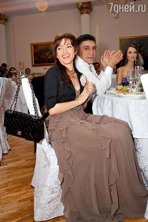 Алена Хмельницкая с бывшим мужем Тиграном Кеосаяном