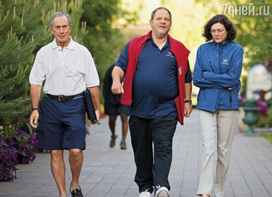 С мэром Нью-Йорка М. Блумбергом и Дайаной Тэйлор, 2010 г.