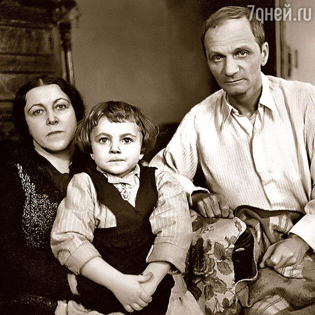 Мария и Андрей Платоновы с дочерью Машей