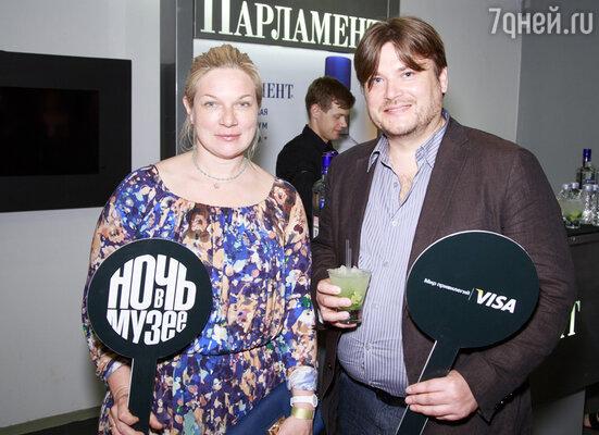 Владимир Иваненко с супругой