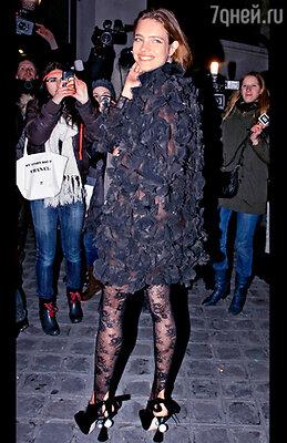 Самая желанная гостья на любом званом мероприятии российская модель Наталья Водянова («Valentino»)
