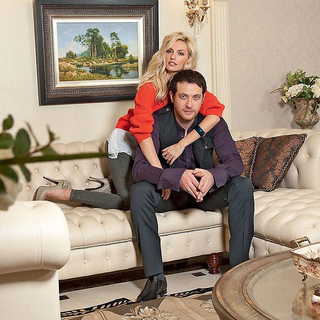 Саша Савельева с  мужем Кириллом Сафоновым