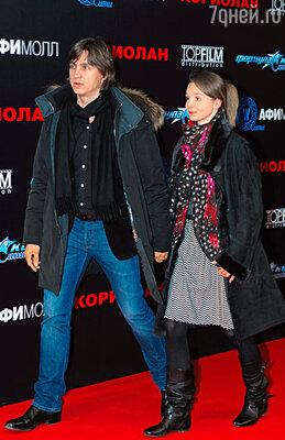 Сергей Филин с женой