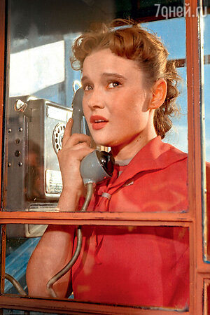 Людмила Гурченко в фильме «Девушка с гитарой». 1958 год