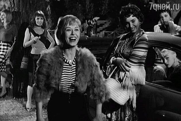 Джульетта Мазина в фильме «Ночи Кабирии» (1957)