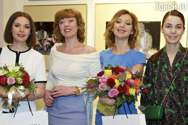 Ирина Лачина, Наталья Бондина, Елена Захарова, Алена Ахмадуллина