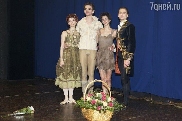 """Артисты балета """"Манон"""""""