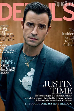 Джастин Теру для Details Magazine