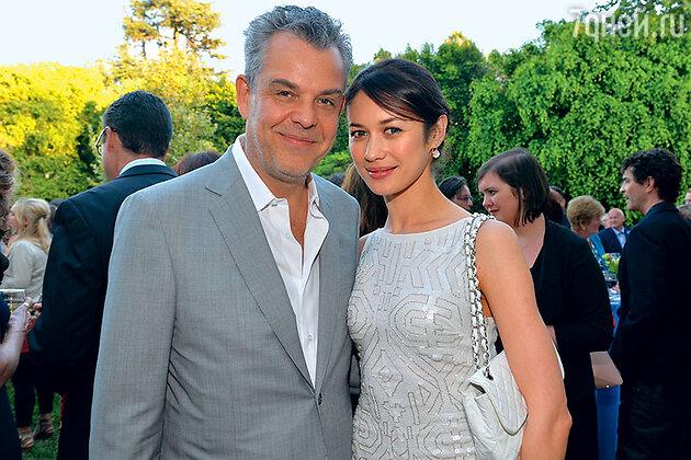 Ольга Куриленко с бывшим возлюбленным Дэнни Хьюстоном в Лос-Анджелесе
