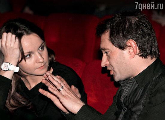 Ольга Литвинова уже два года рядом с Хабенским