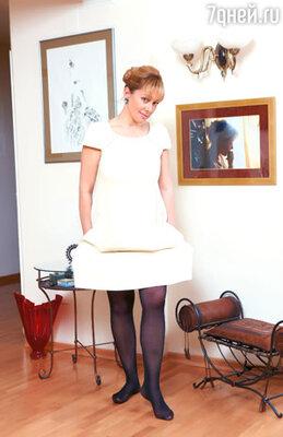 «Это забавно, но, став бабушкой, я теперь чаще ношу мини». На Арине Шараповой платье Sonia Rykiel