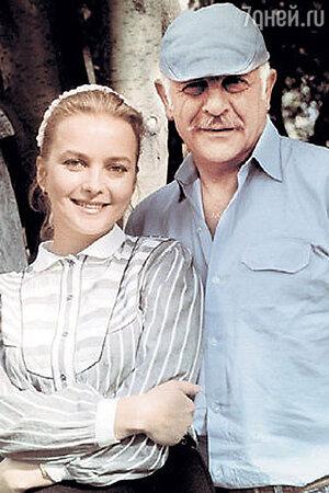 Актриса Наталья Вавилова и ее супруг, режиссер Самвел Гаспаров (1991 г.)