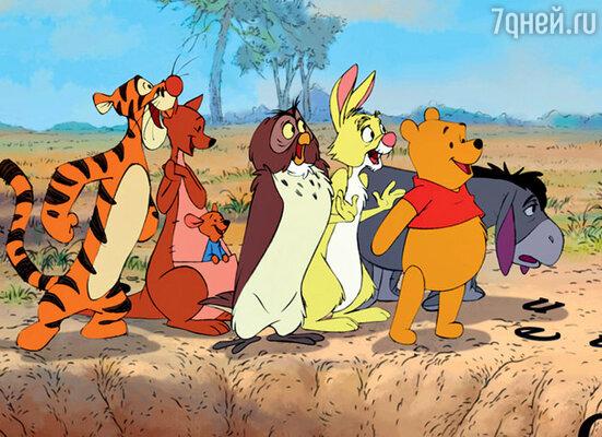 Кадр из фильма «Медвежонок Винни и его друзья»