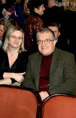 Михаил Филиппов с супругой Натальей Васильевой